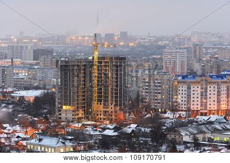 New Building Project, Orel, Russia, Panoramic View