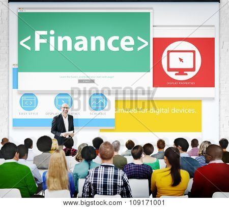 Finance Business Money Business Seminar Learning Conference Concept