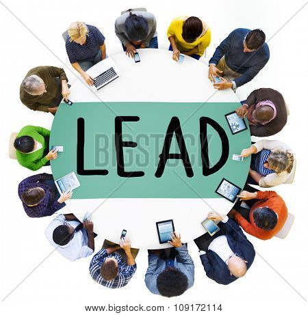 Lead Leader Authority Boss Director Business Concept
