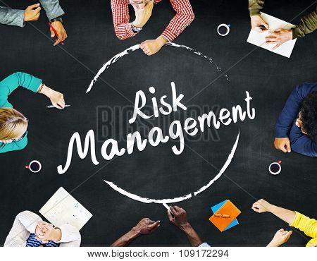 Risk Management Analysis Security Safety Concept
