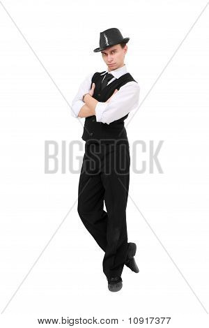 Attractive Gentleman Standing
