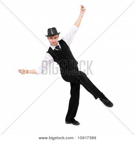 Attractive Gentleman Dancing