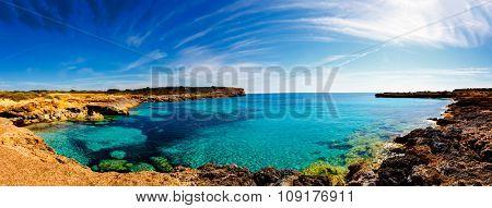 Majorca sea bay