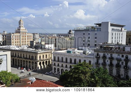 Old Havana Architecture In Cuba.