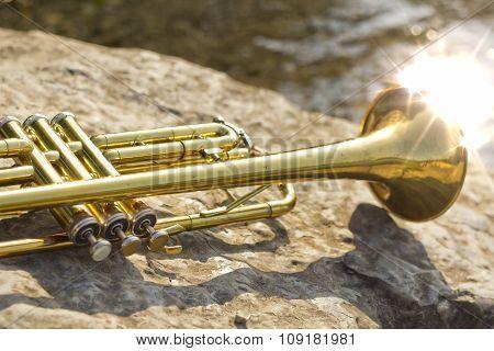 Trumpet Instrument Lake
