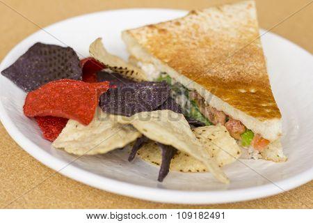 Tuna Panini Tortilla Chips