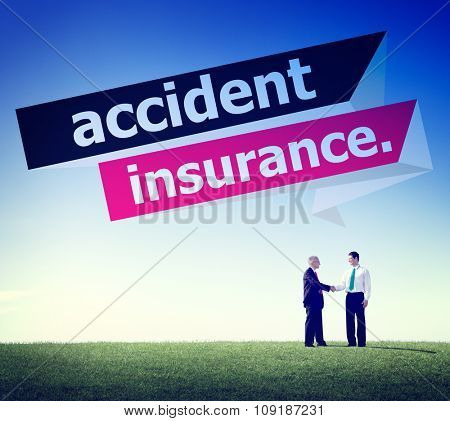 Accident Insurance Protection Damage Safety Concept
