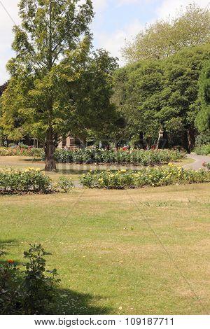 Victoria park in portsmouth