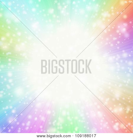 Abstract Star-burst Background