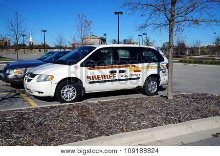 Will County Sheriff Vehicle