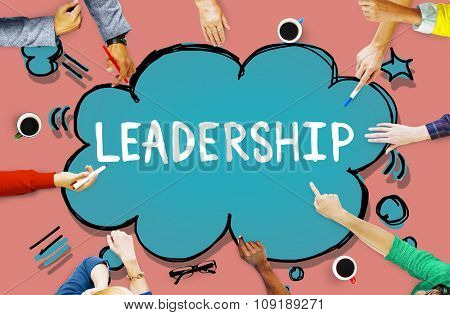 Leadership Leader Lead Manager Management Concept