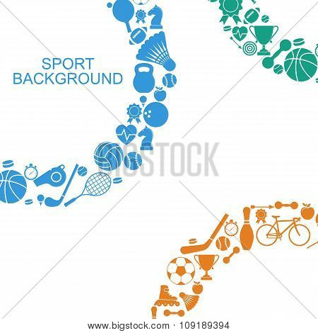 Sports Background, Concept