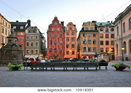 Stockholm. Old Square Stor Torget