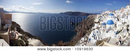 Oia, Greece Panoramic