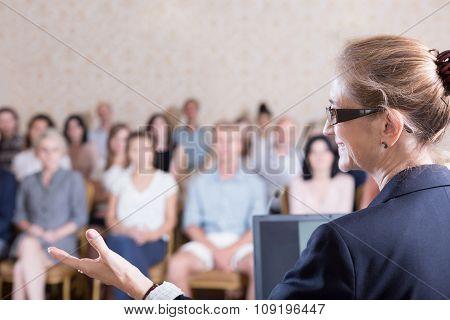 Speaking During Training