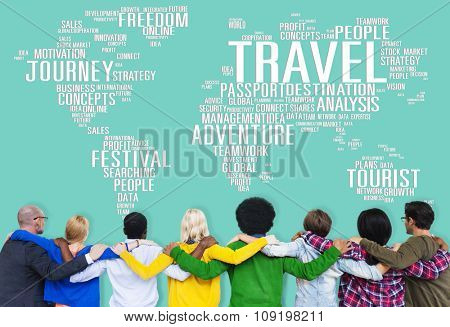 Travel Explore Global Destination Trip Adventure