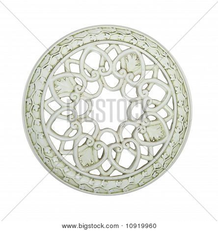 Round Decorative Tile