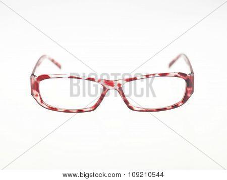 Glasses On White Background