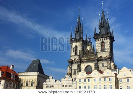 Tyn Church (Prague Czech Republic)