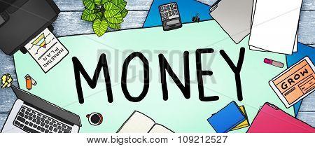 Money Economics Finance Inevestment Payment Concept