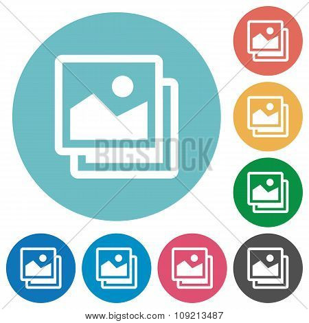 Flat Images Icons