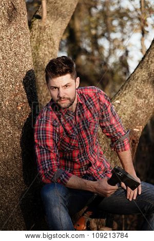 Stylish Lumberjack