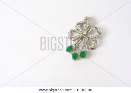 Jewelry On A White Background