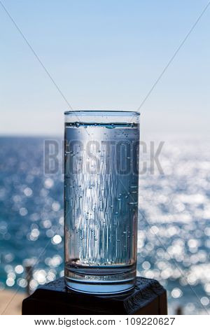 A Glass Of Pure Sparkling Water.