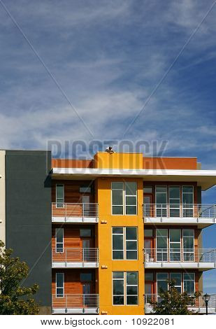 New colorful apartments (condo)