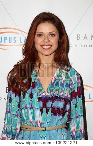 LOS ANGELES - NOV 20:  Anna Trebunskaya at the 13th Annual Lupus LA Hollywood Bag Ladies Luncheon at the Beverly Hilton Hotel on November 20, 2015 in Beverly Hills, CA