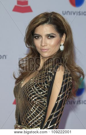 LAS VEGAS - NOV 19:  Blanca Blanco at the 16th Latin GRAMMY Awards at the MGM Grand Garden Arena on November 19, 2015 in Las Vegas, NV