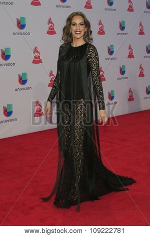 LAS VEGAS - NOV 19:  Mariana Vega at the 16th Latin GRAMMY Awards at the MGM Grand Garden Arena on November 19, 2015 in Las Vegas, NV