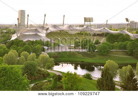 Stadium Of The Olympiapark.