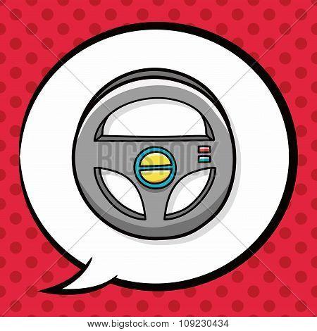 Steering Wheel Doodle