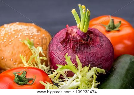 Ingredients Of Beef Burger