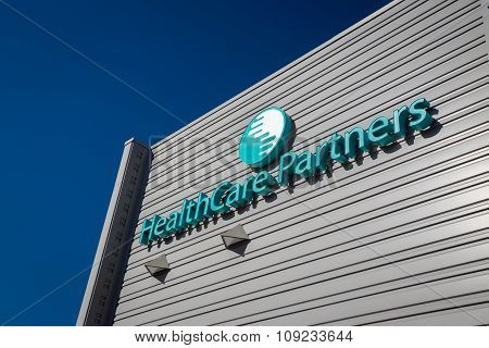 Healthcare Partners Exterior And Logo