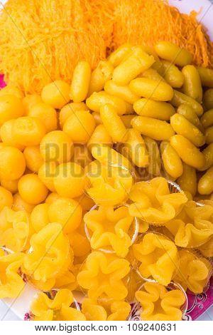 Foi Thong (sweet Shredded Egg Yolk), Sweets Thailand