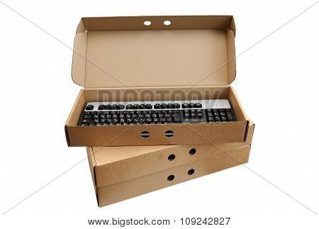 Keyboard In An Open Box