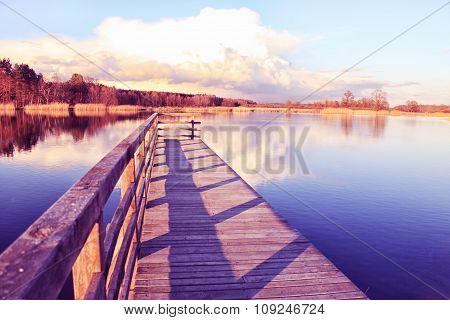 Polish lake