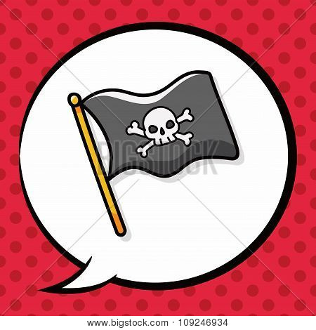 Pirate Flag Doodle