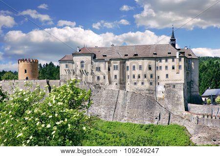 Castle Cesky Sternberk, Bohemia, Czech Republic