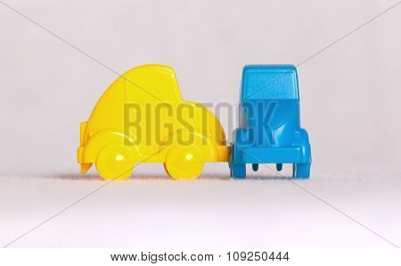 Toy Cars Isolated