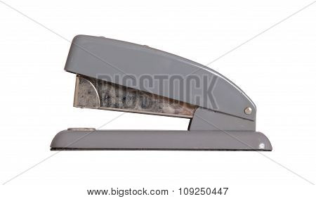 Old Dirty Stapler Isolated