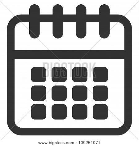 Spiral Calendar Icon