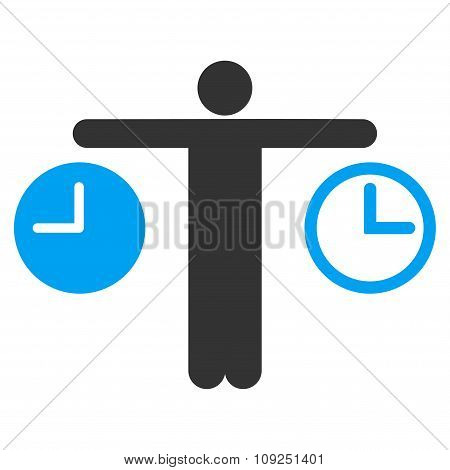 Compare Time Icon