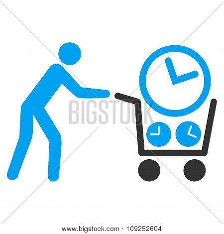 Clock Shopping Icon