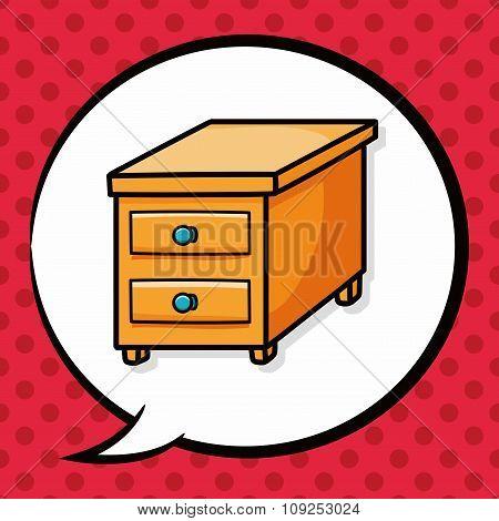 Cabinet Closet Doodle