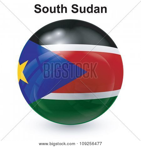 State flag of South Sudan