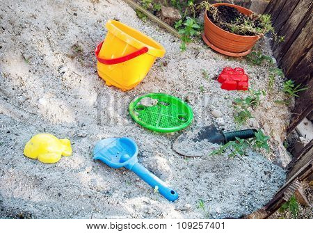 Sand Toys, Summer Vacation