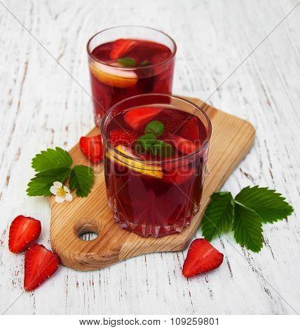 Summer Strawberry Drink